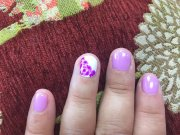 beautiful flower nail art - yelp