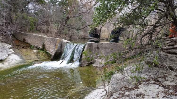 Waterfall at Wallnut Creek Metropolitan Park