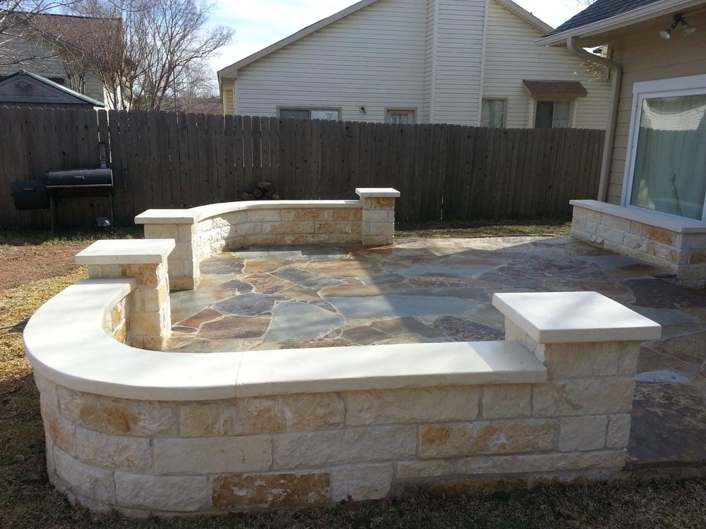 Austin patio stone