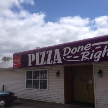 pizza done right pizza