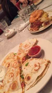 Chicken Quesadilla and House Croissant - Yelp