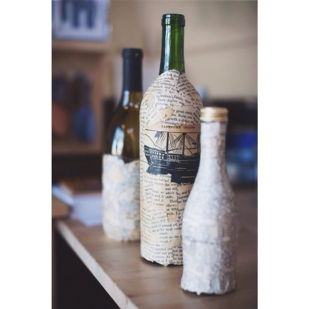 pretty wine bottles made