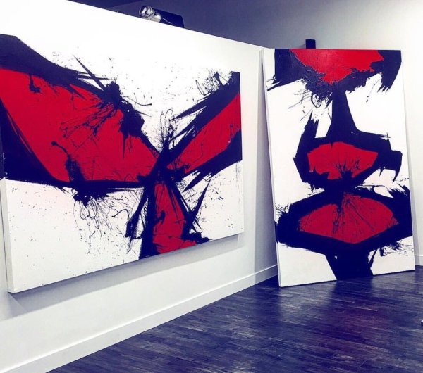 Japanese Abstract Art Paintings