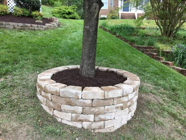 used pavers build ring