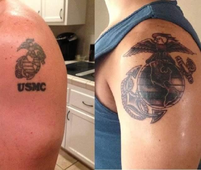 Photo Of Sea Hag Tattoo Parlour Temecula Ca United States Cover Up