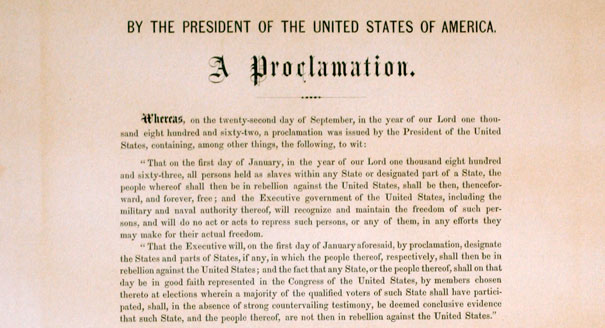 Emancipation Proclamation copy sells for 21M at New York auction  POLITICO