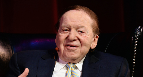 Adelson opens checkbook for GOP  POLITICO