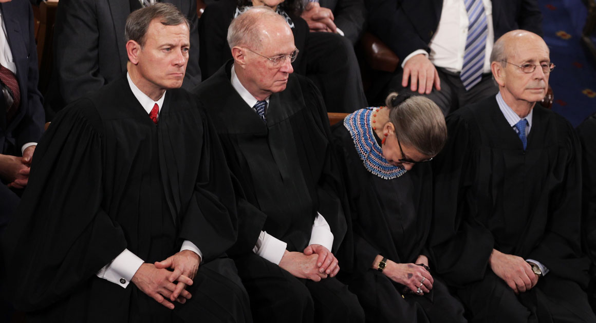 Ginsburg I Wasn T 100 Percent Sober At Sotu Politico
