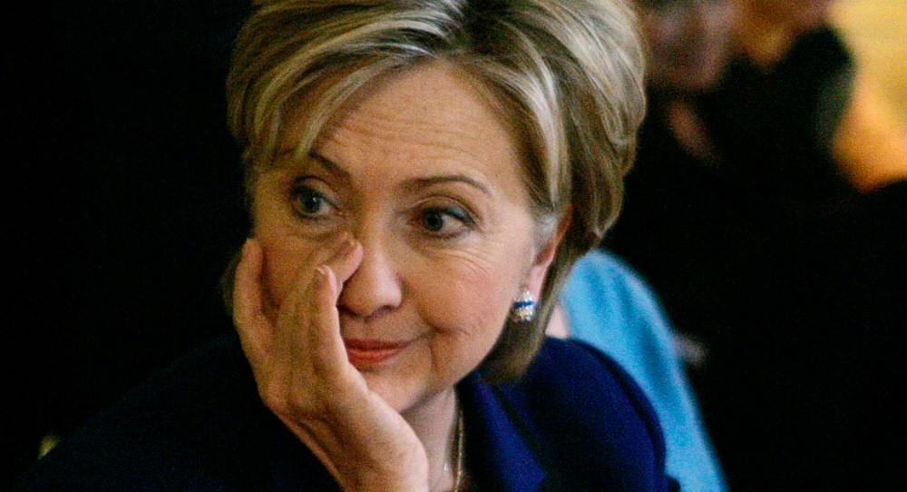 Image result for hillary crying