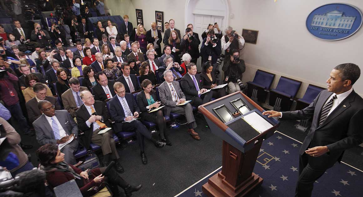 Image result for white house press corps