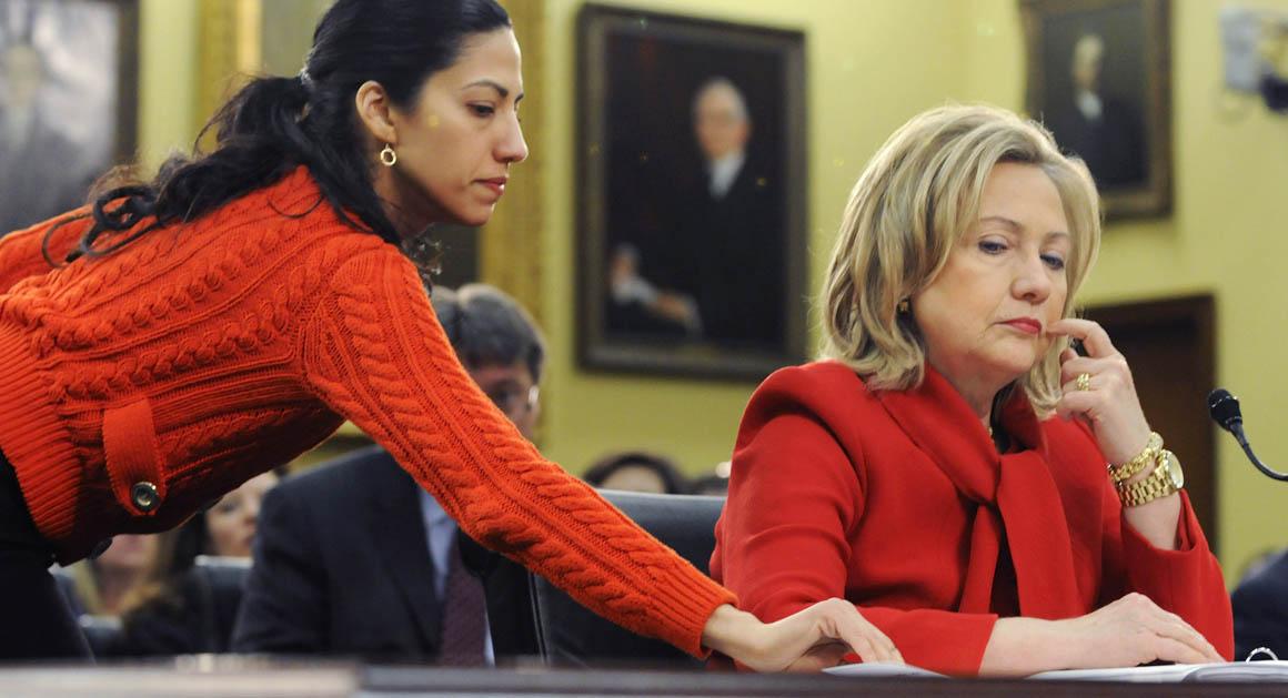Hillarys shadow  POLITICO