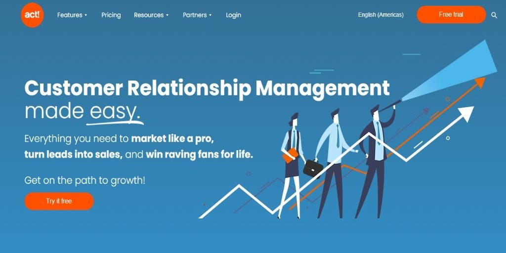 Act!-software Freshsales Salesforce CRM Software For eCommerce
