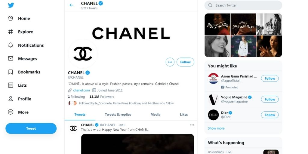 Promote Your Fashion Brand On Twitter