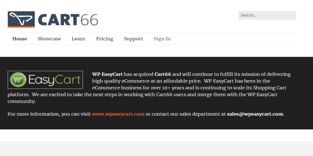 Cart66 eCommerce WordPress Plugin