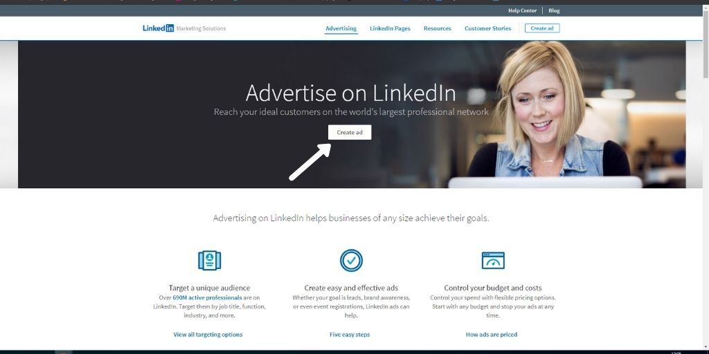 Use LinkedIn Ads
