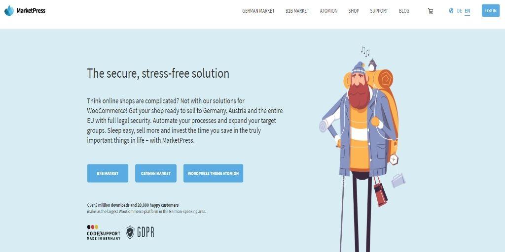 MarketPress eCommerce WordPress Plugins