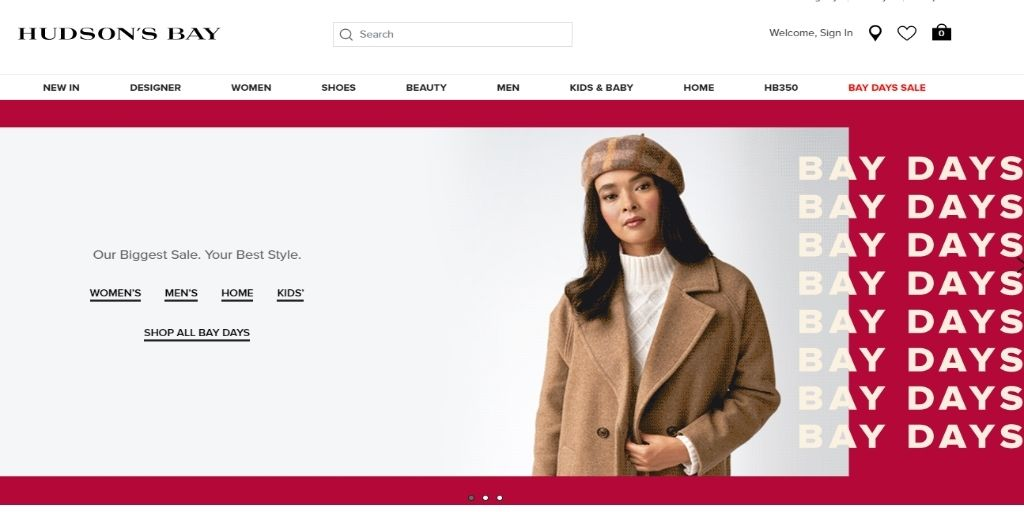 Online Shopping Sites in Canada