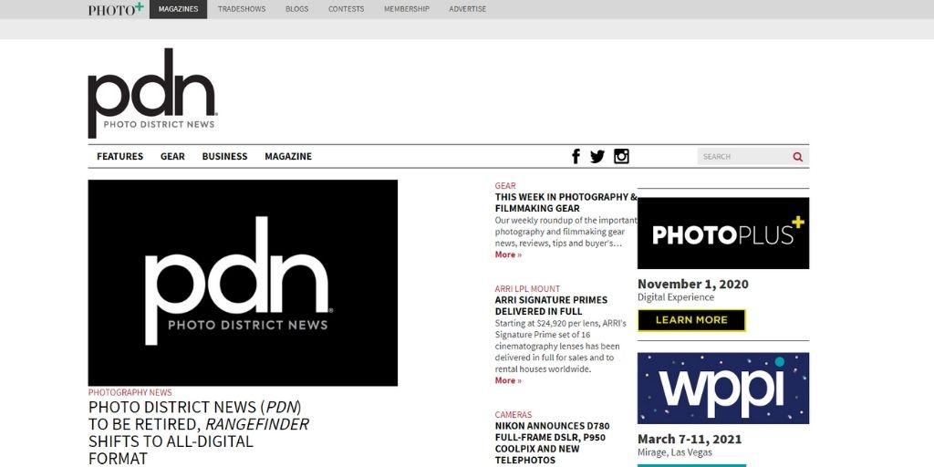 PDN photography magazine
