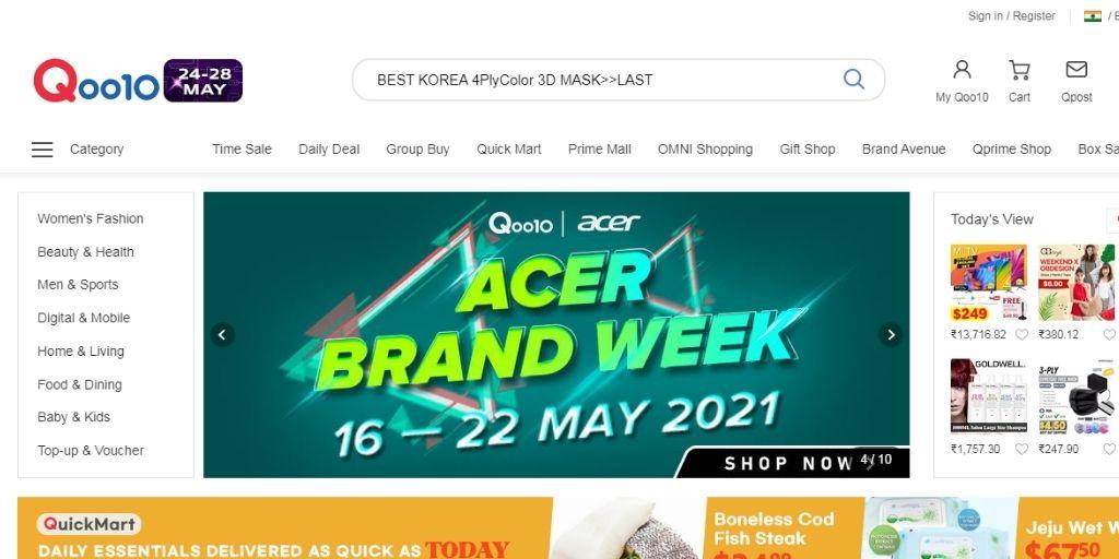 eCommerce Websites in Singapore