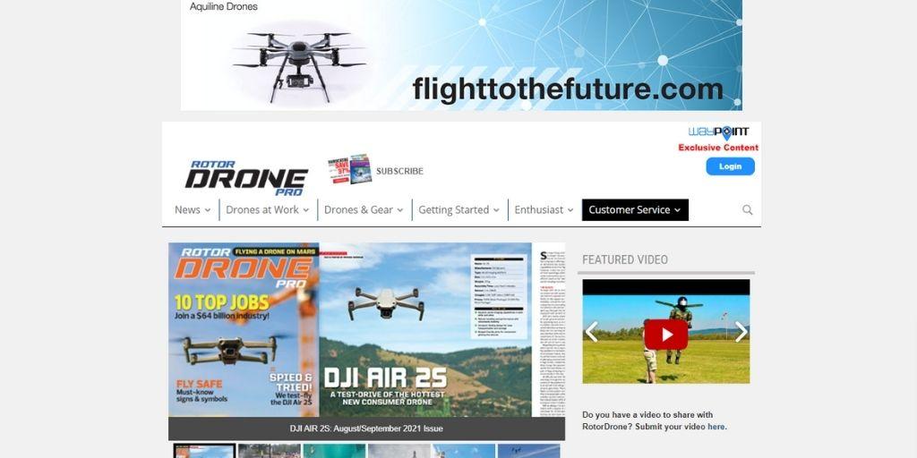 Rotor Drone photography magazine