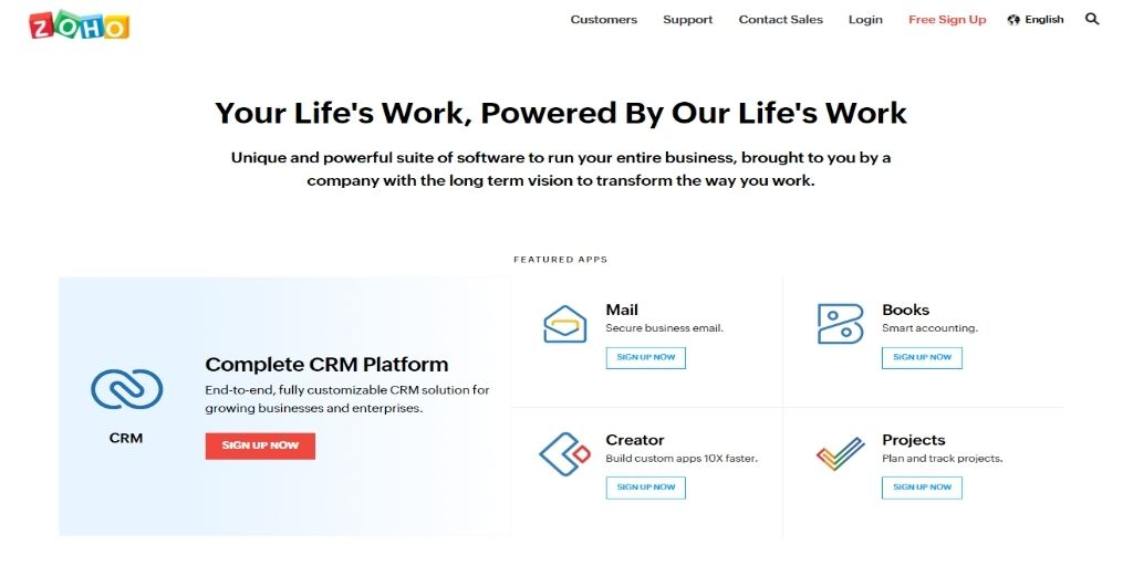 Zoho Act!-software Freshsales Salesforce CRM Software For eCommerce