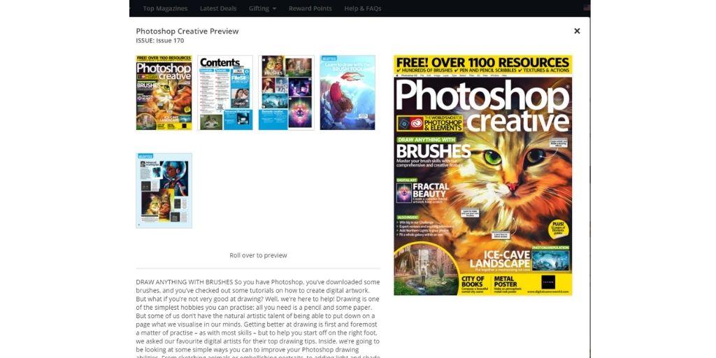 creative photography magazines