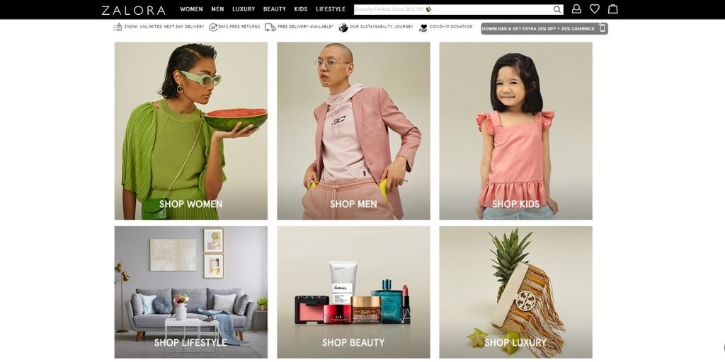 How to Sell on Zalora