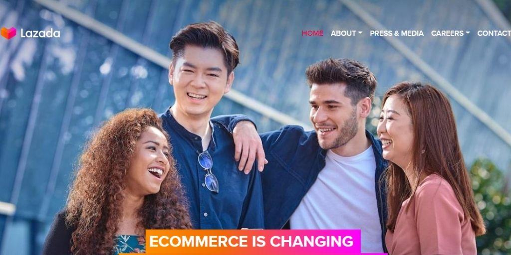 eCommerce website in Singapor