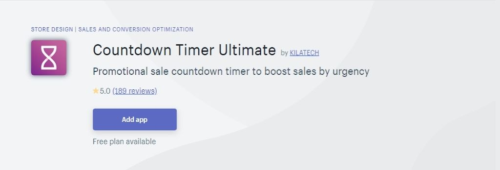sales Countdown timer ultimate