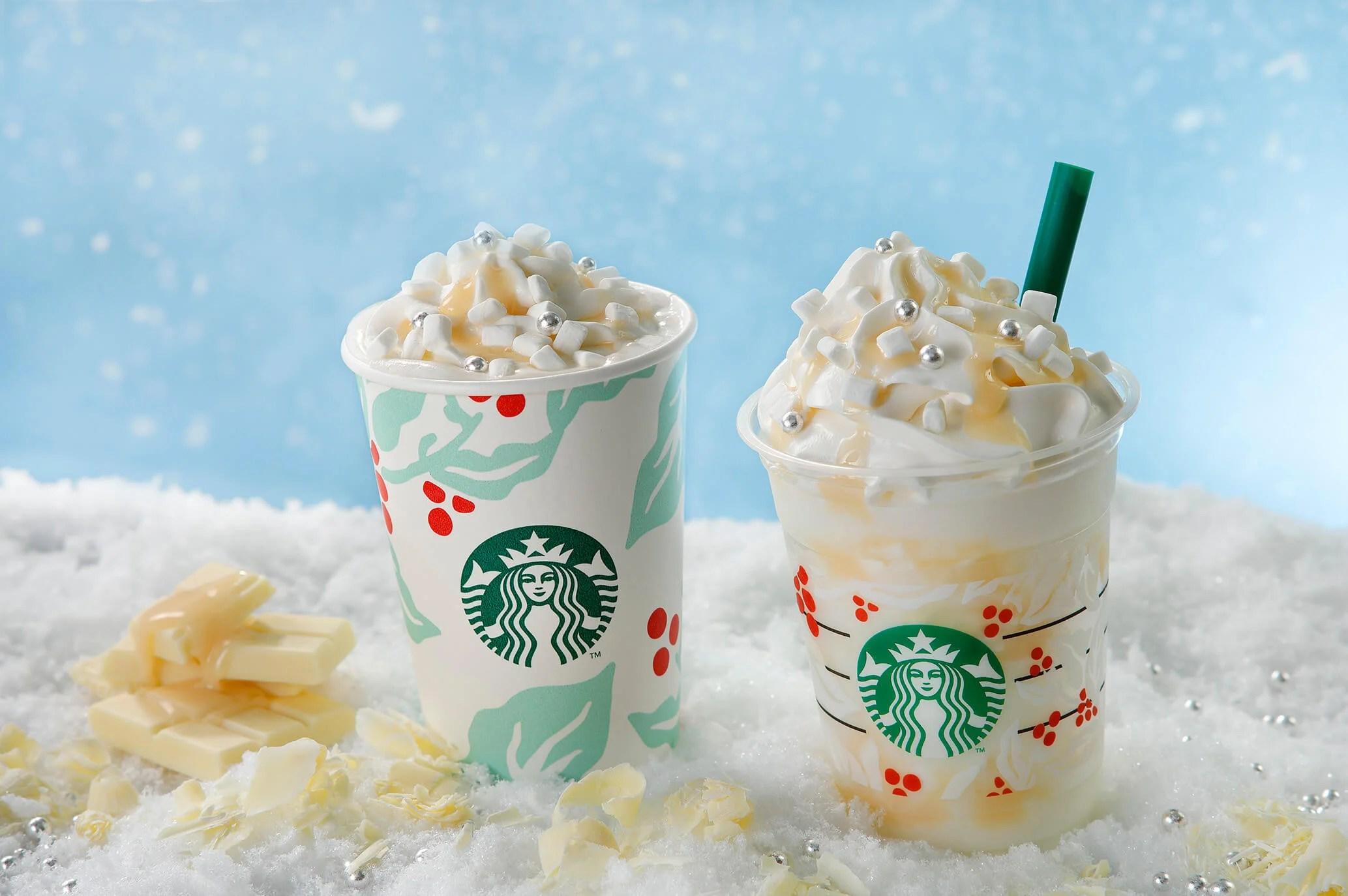 星巴克如白雪般的白巧克力星冰樂登場   星巴克,這次以純白的雪花為印象,濃郁甜美的滋味正是耶誕的暖心祝福,巧克力醬與濃縮咖啡,為情侶們獻上七夕情人節最浪漫的鍾情絮語,為情侶們獻上七夕情人節最浪漫的鍾情絮語,   日本   妞新聞 niusnews