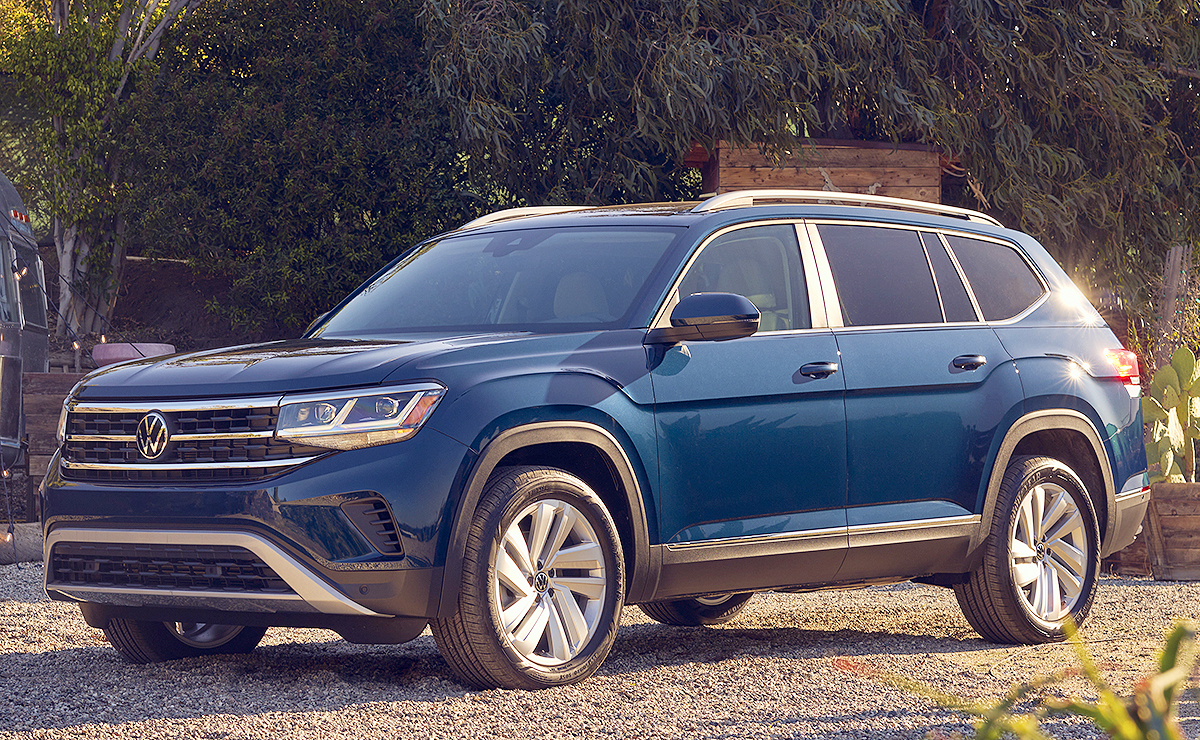 2021 vw atlas performs new tricks with
