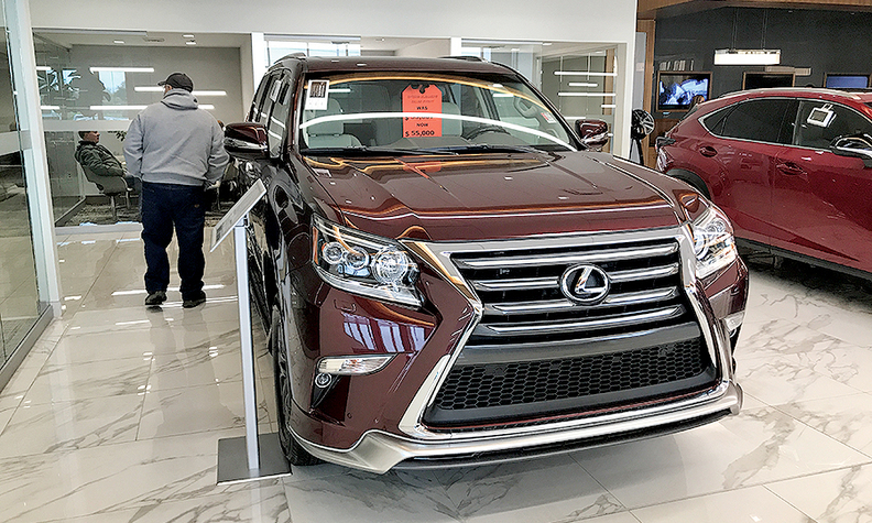 lexus hendrick automotive top