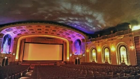 patio theater in portage park goes up