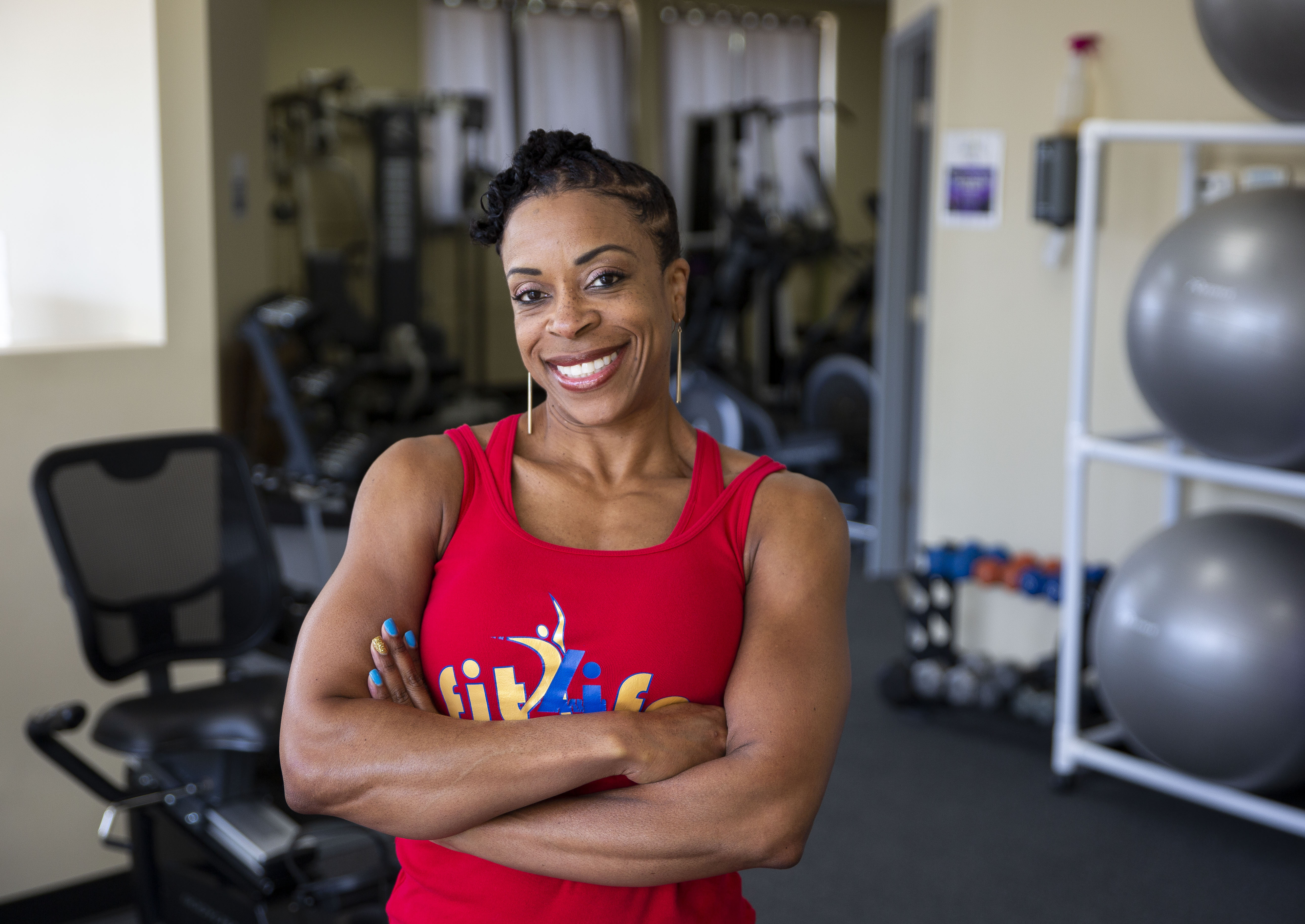 Felicia Maxwell Owner Fit 4 Life Health And Fitness
