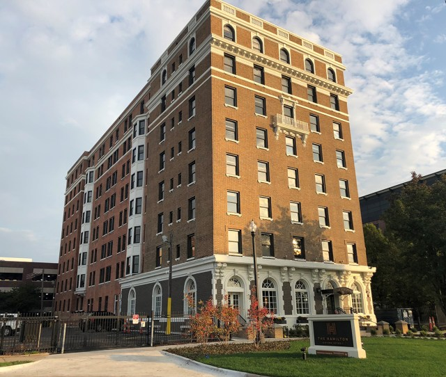 Broder Sachse Real Estate Opened In  The Hamilton Midtown Apartment Building In Detroit Previously Called Milner Arms