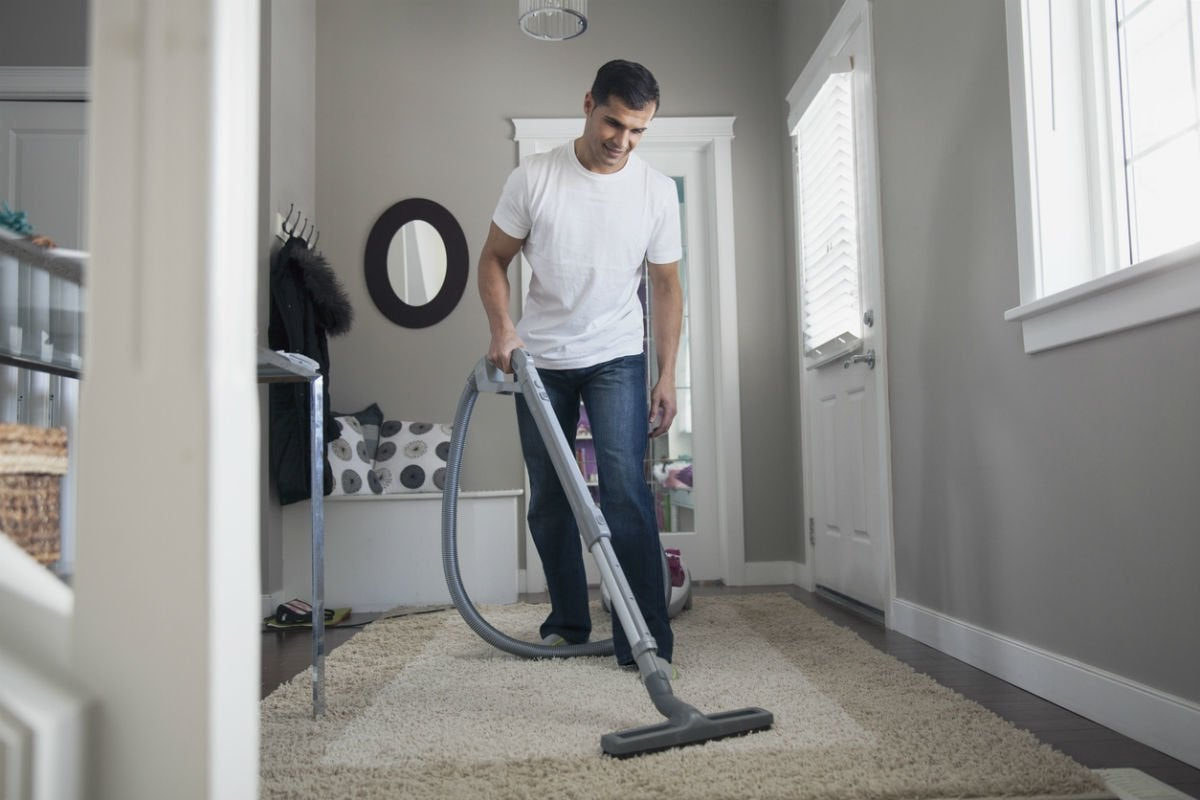 how to clean big living room rugs furniture walmart an area rug or accent yourself bob vila