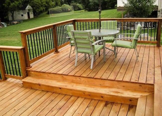 How To Finish Cedar Decking