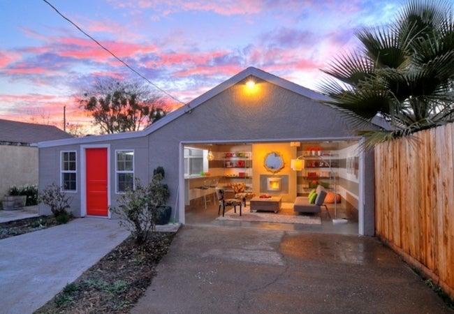 Garage Conversion Lounge