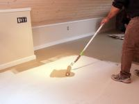 Painted Plywood Floors - Bob Vila