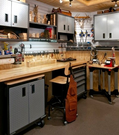 Simple Solutions for a More Livable Garage