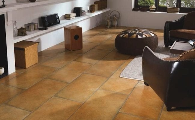 white tile floors in living room paint color schemes kitchen how to clean porcelain - bob vila
