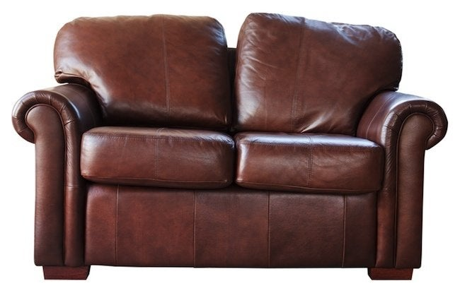 leather couch and chair seat covers with elastic how to clean furniture bob vila