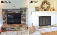 Fireplace Makeover - Before & After - Bob Vila