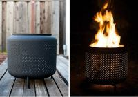 Washing Machine Fire Pit - Genius! - Bob Vila