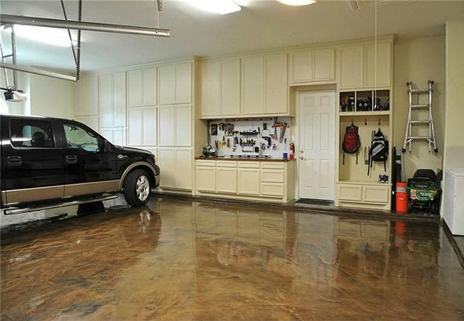 How To Paint A Garage Floor Bob Vila