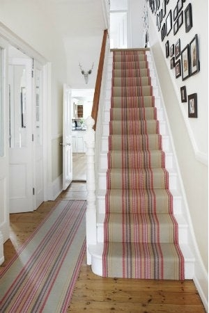 How To Install Carpet On Stairs Bob Vila | Fitting Carpet To Open Tread Stairs | Landing | Floating Staircase | Stairway | Hardwood | Prefinished Stair