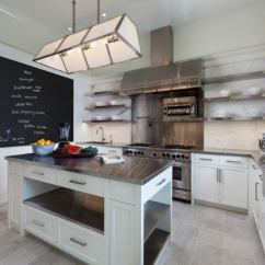 Stainless Kitchen Frosted Glass For Cabinet Doors Steel Countertops The Pros And Cons Bob Vila Counters Modern