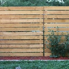 Tall Kitchen Trash Cans Cheap Cabinets Sale Genius! The Easy Way To Add Privacy A Chain-link Fence ...