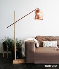 DIY Floor Lamp - DIY Lite - Bob Vila