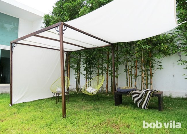 DIY Outdoor Privacy Screen And Shade